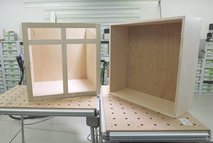 Building Cabinets, Building Kitchen Cabinets With Festool Domino